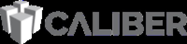 caliber company grey logo